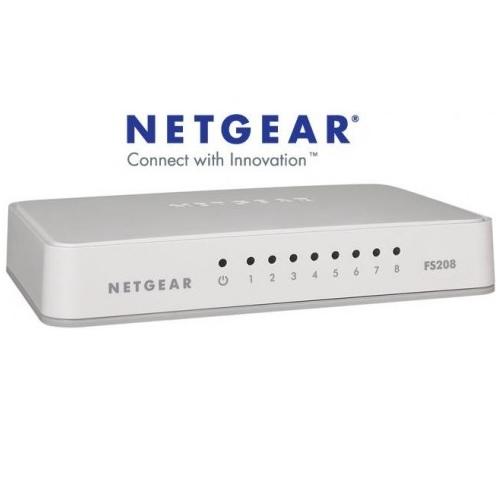 Netgear-FS208