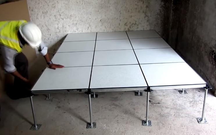 Raised floor systems in Bangladesh