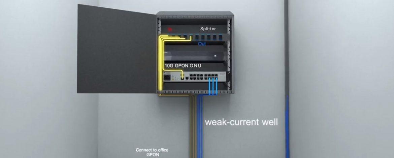 Passive Optical LAN Solution