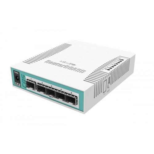 CRS106-1C-5S   Mikrotik Smart Switch