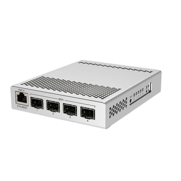 CRS305-1G-4S+IN | Mikrotik Single Gigabit Ethernet Switch